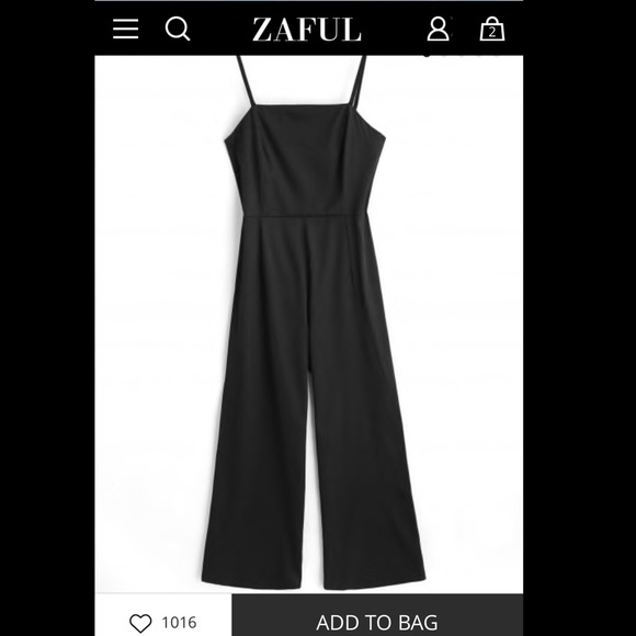 biggest selection store search for newest Black jumpsuit NWT